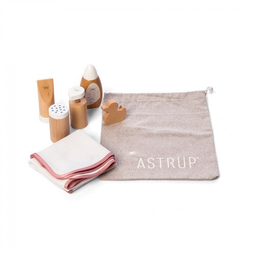 Astrup - Wooden Doll Bathing Set