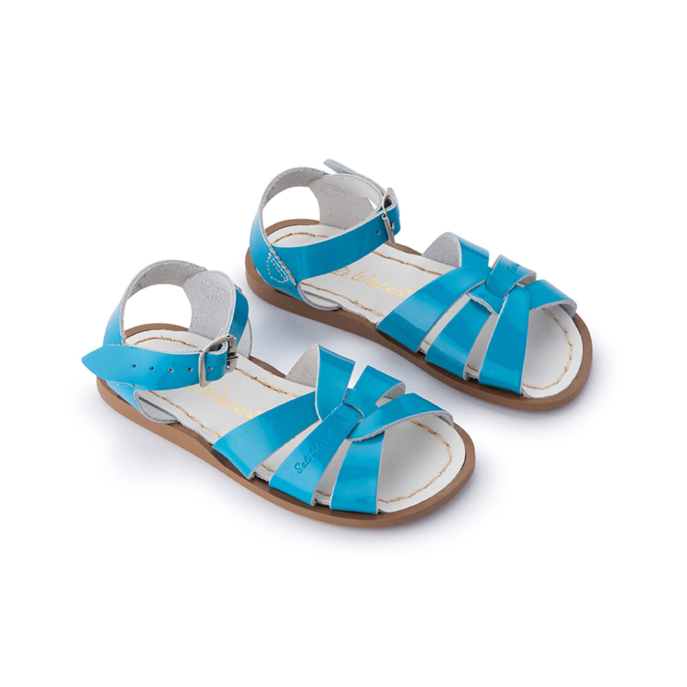 Salt Water Sandals - Original - Shiny Turquoise