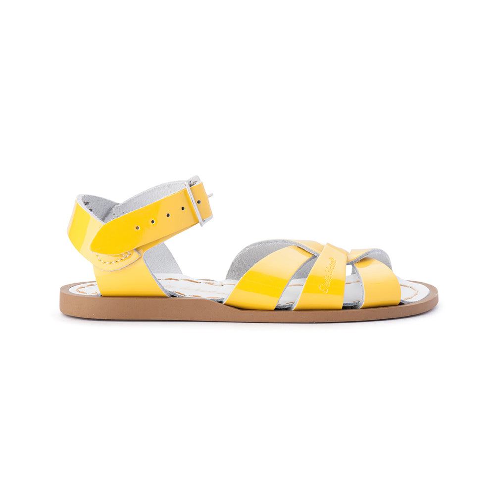 Salt Water Sandals - Original - Shiny Yellow