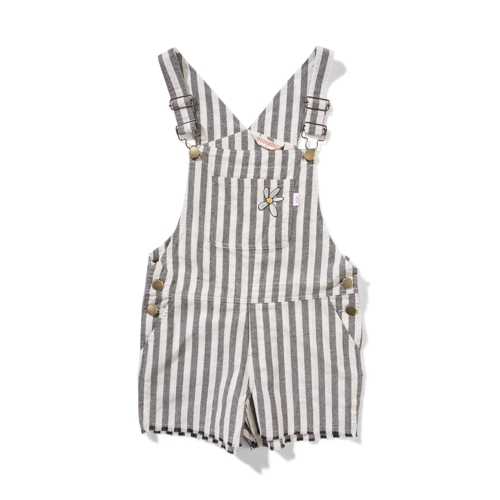 Missie Munster - Project Overalls - Grey stripe