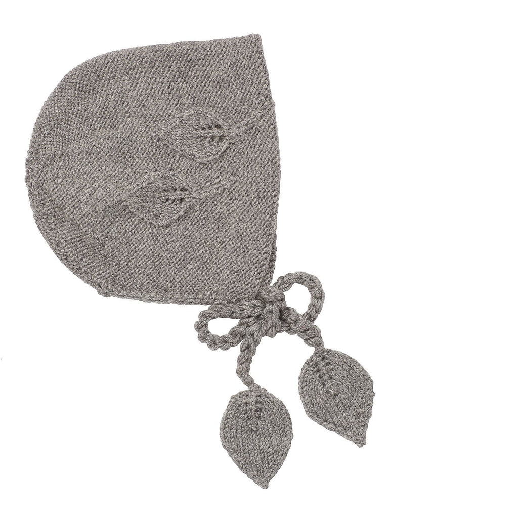 Acorn - Leaf Bonnet - Grey