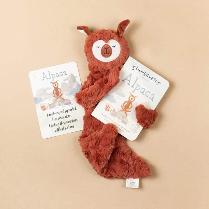 Slumberkins - Alpaca Snuggler - Copper
