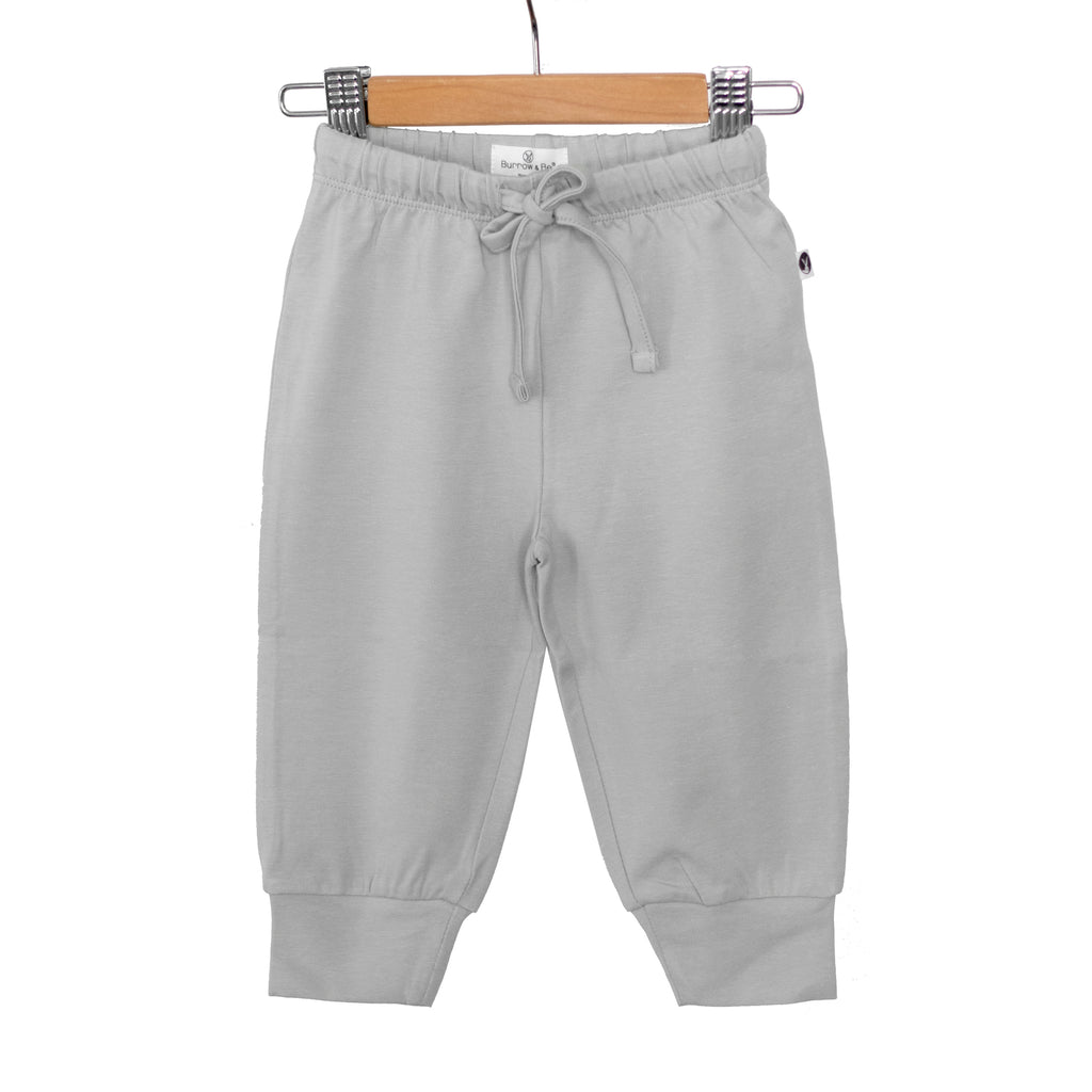Burrow & Be - Essentials Baby Pant - Grey