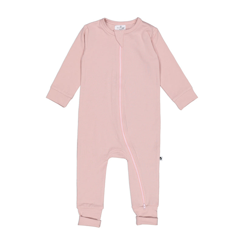 Burrow & Be - Essentials Zippy Suit - Dusty Rose