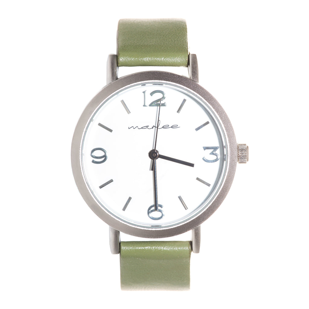 Marlee Watch Co - Fern Khaki
