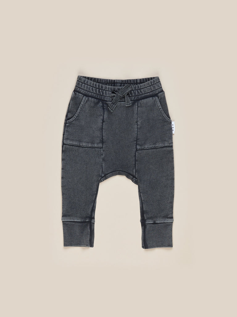 Huxbaby - Drop Crotch Pant - Charcoal