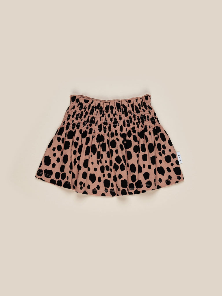 Huxbaby - Shirred Skirt - Terracotta