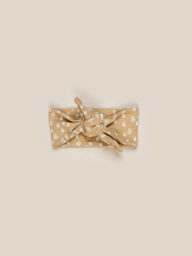 Huxbaby - Bee Rib Headband - Honey