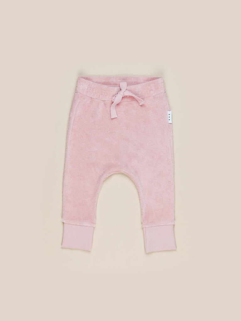 Huxbaby - Terry Pant - Rose
