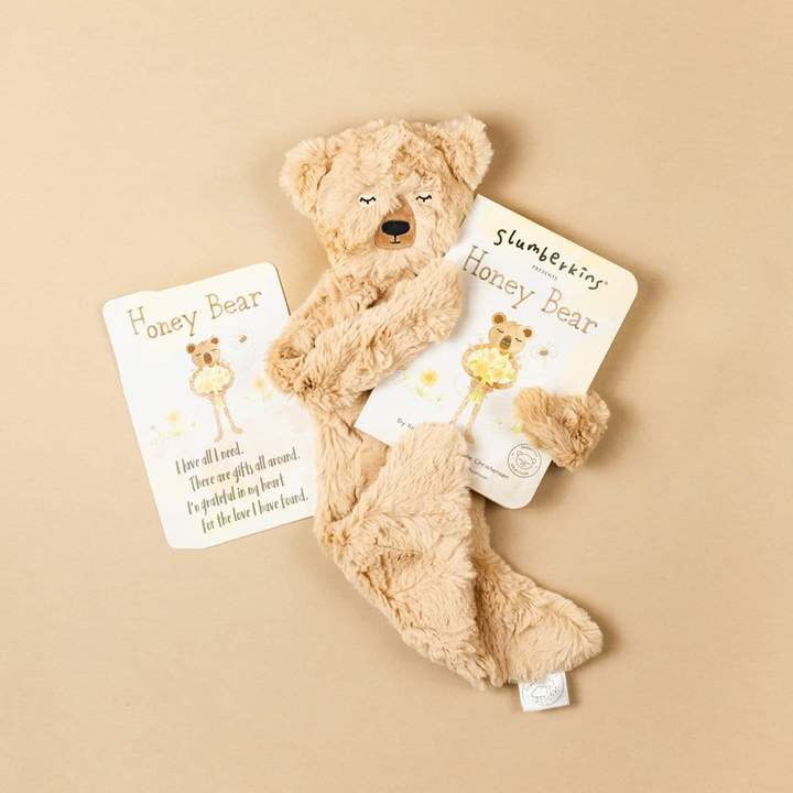 Slumberkins - Honey Bear Snuggler - Honey