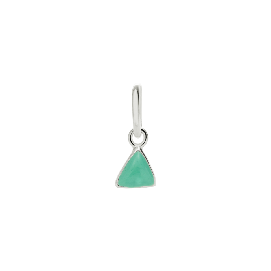 Little Kirstin Ash - Mint Triangle Charm