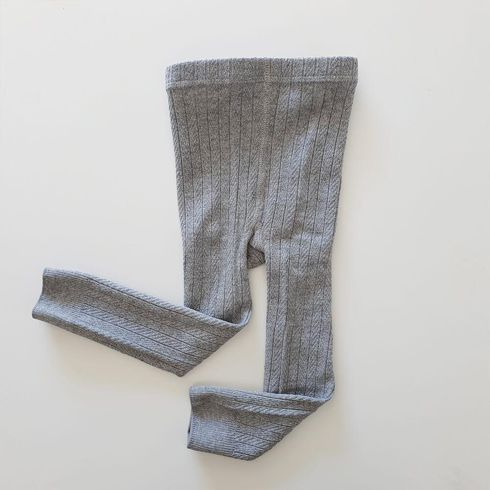 Precious April - Lucy Cotton Leggings - Steel Grey
