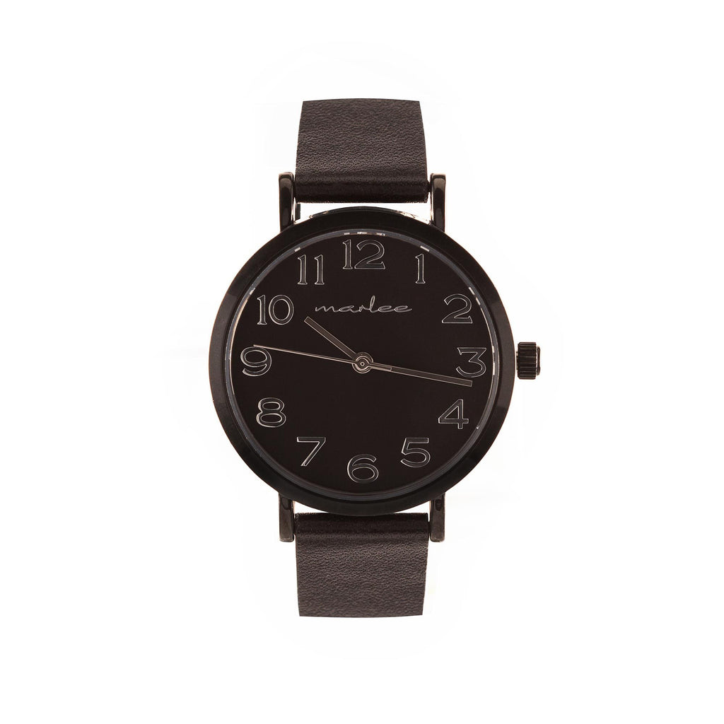 Marlee Watch Co - Minimalist Black