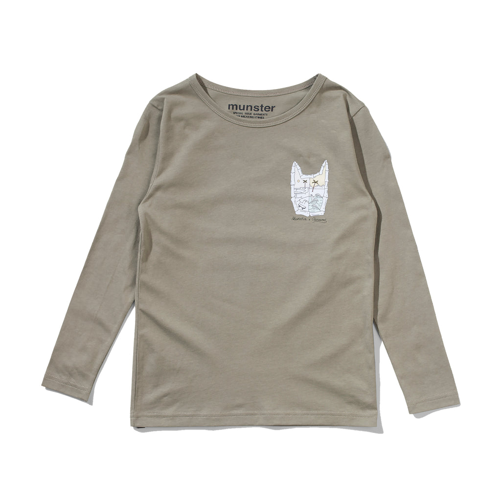 Munster Kids - Half Day Long Sleeve Tee - Olive