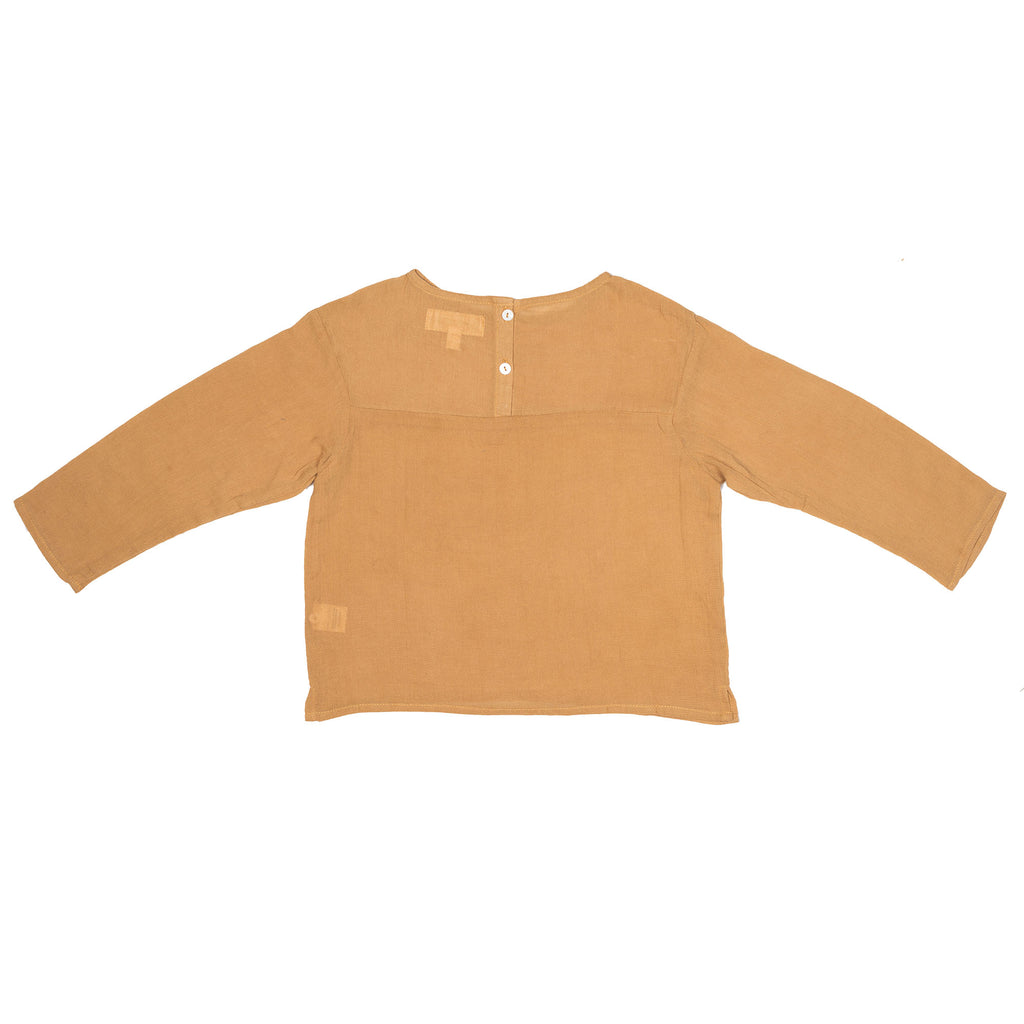 Children of the Tribe - Mustard Blouse