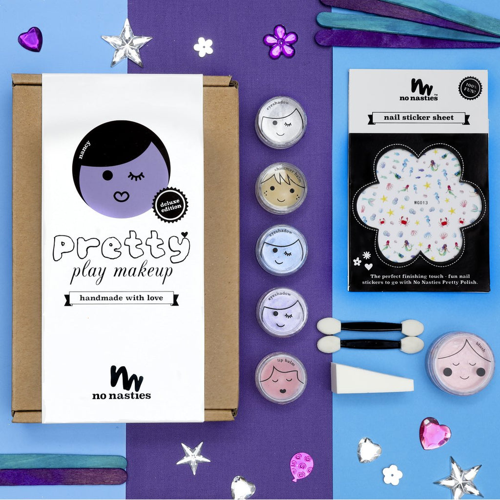 No Nasties - Nancy Deluxe Purple Pretty Play Makeup Box