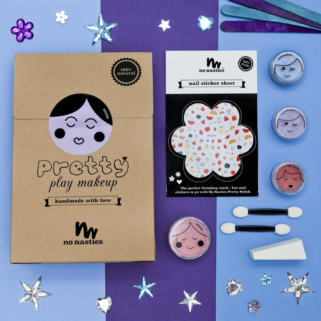 No Nasties - Nixie - Purple Pretty Play Makeup Goody Pack