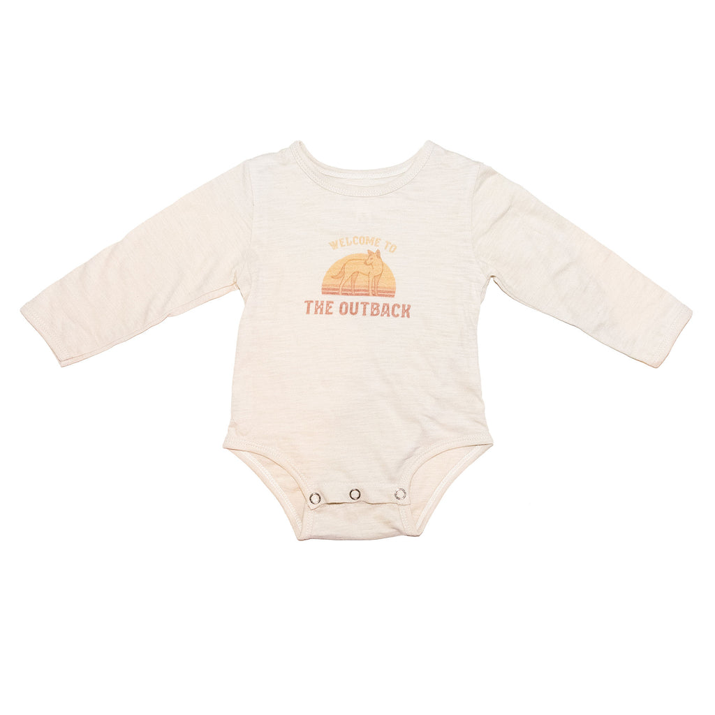 Children of the Tribe - Oatmeal Long Sleeve Onesie