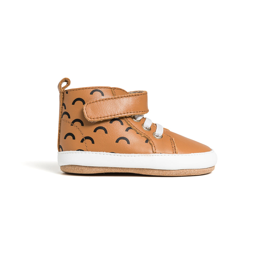 Pretty Brave - Hi-Top Boot - Chestnut