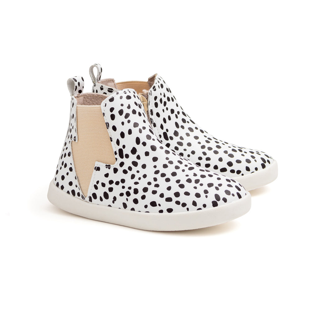 Pretty Brave - Electric Leather Boot - Spots