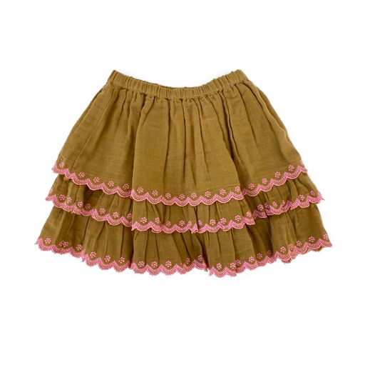 Bella and Lace - Eugenie Skirt - Pumpkin Soup