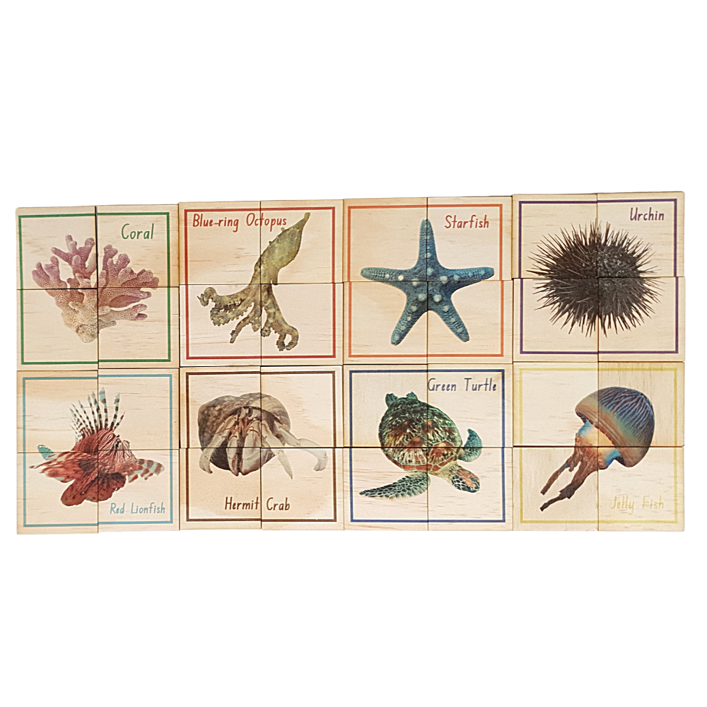 Wooden Sealife Themed Puzzle