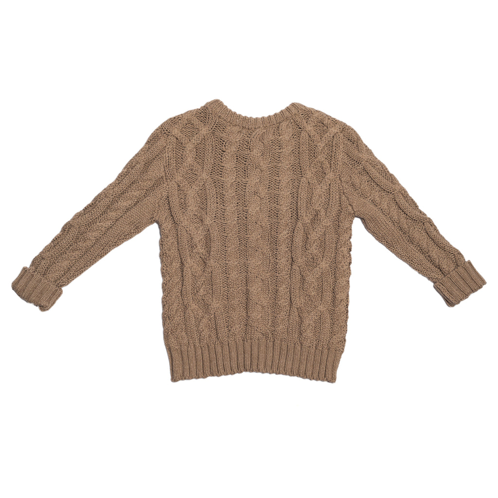 Children of the Tribe - Tawny Cable Knit Jumper