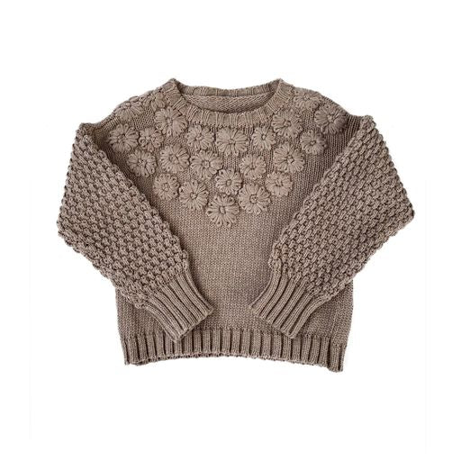 Bella and Lace - Fleur Jumper - Timber