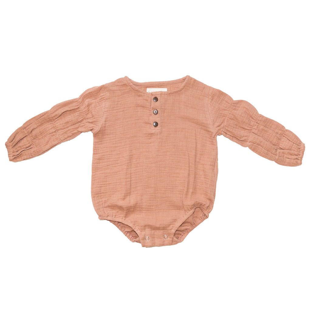 Children of the Tribe - Zephyr Romper - Wild Rose