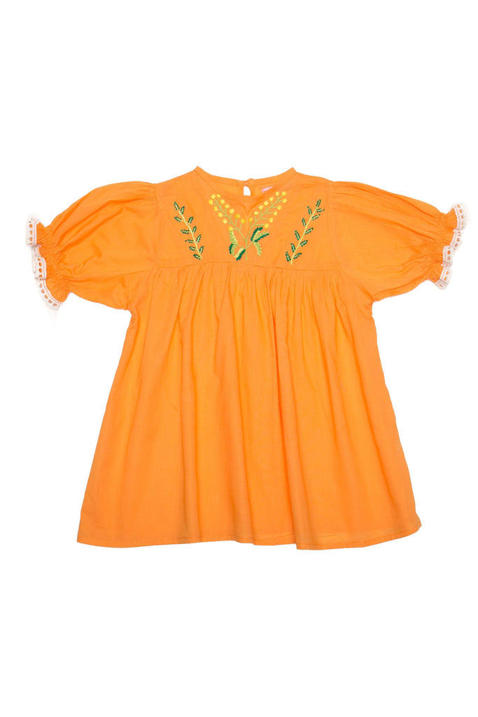 Coco and Ginger - Lily Dress - Papaya