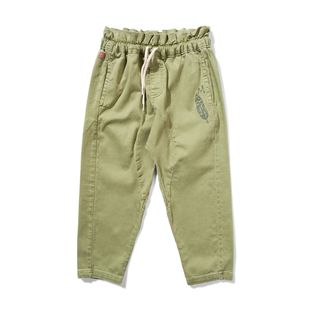 Missie Munster - River Pant - Moss Stone