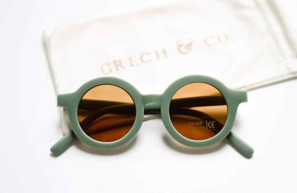 Grech & Co Sustainable Sunglasses-Fern