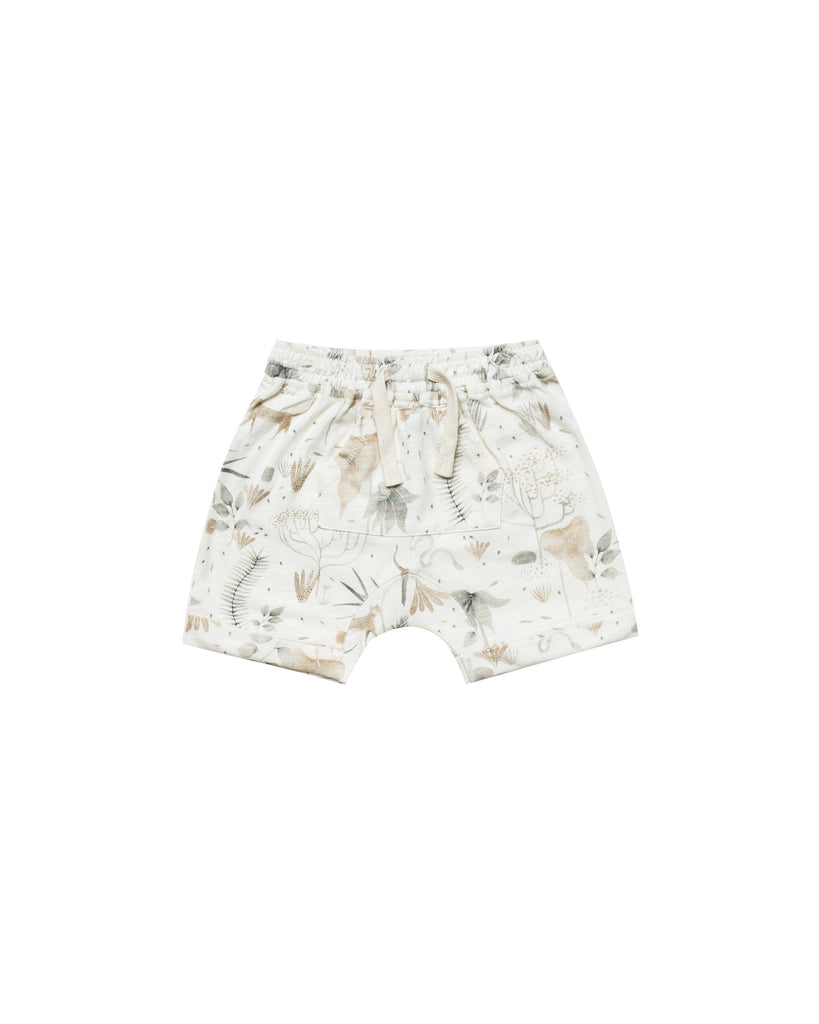 Rylee & Cru - Jungle Front Pouch Short