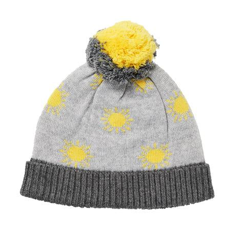 Acorn - Sunshine Beanie - Grey/Yellow