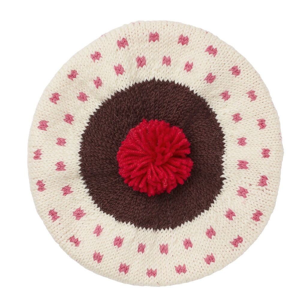 Acorn - The Sunday Beret - Pink