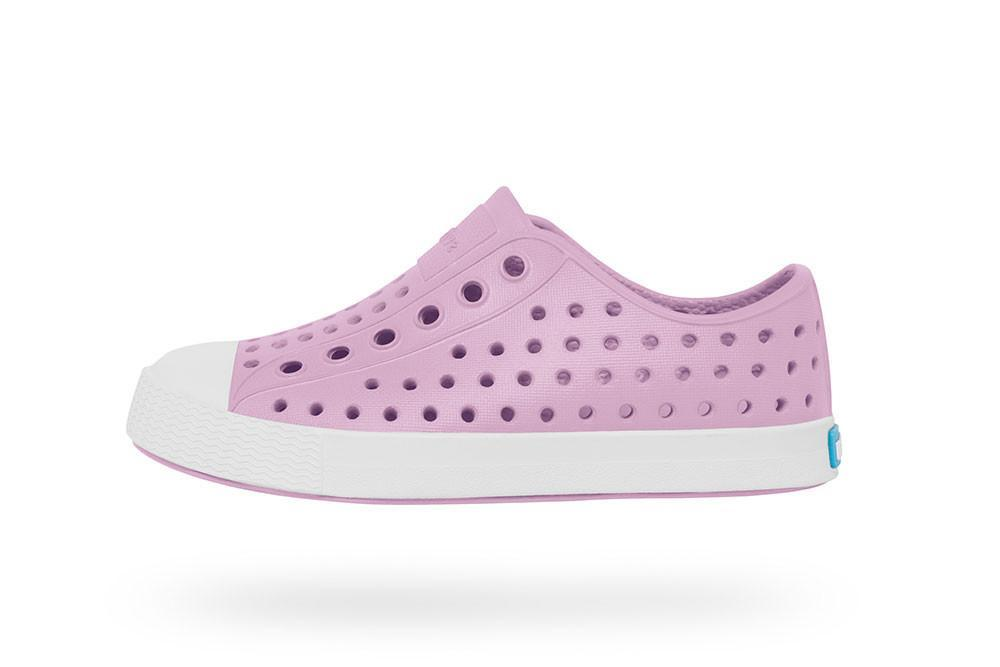 Native Shoes - Jefferson Child - Lavender Purple / Shell White