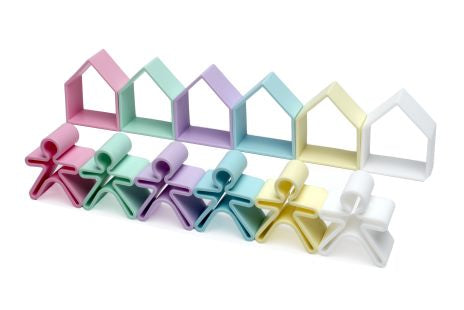 Silicone House + Kids Set