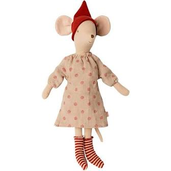 Maileg - Christmas Mouse Girl Medium