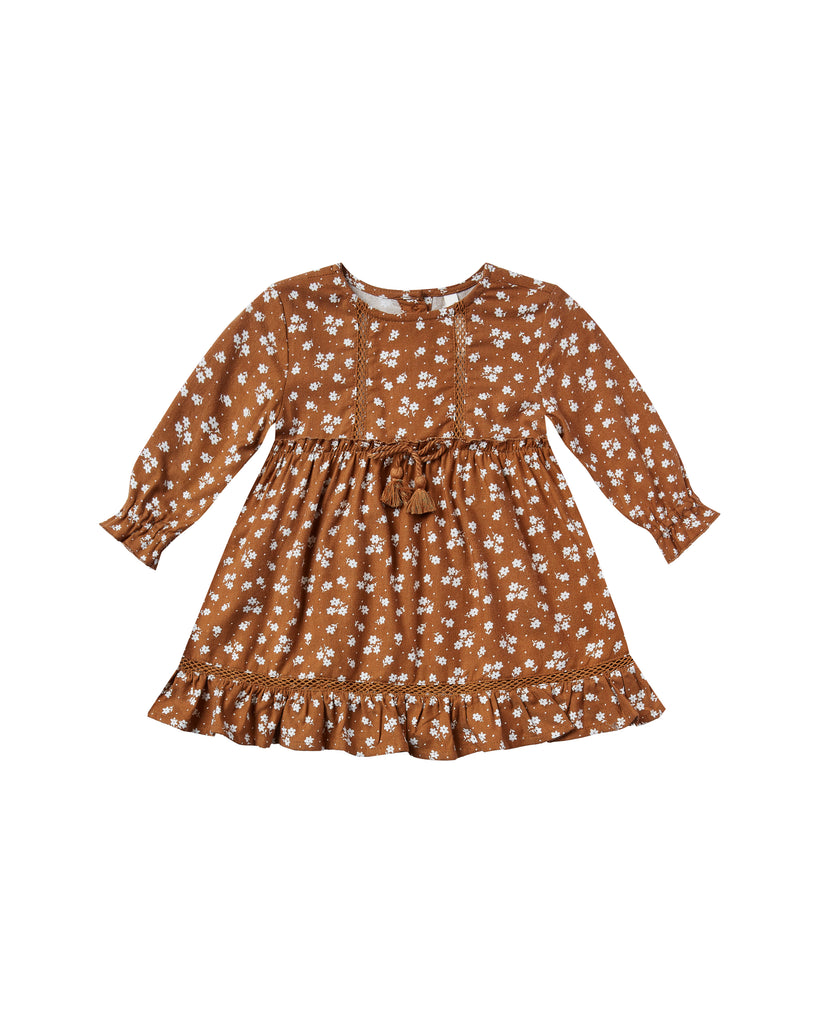 Rylee & Cru - Isabella Dress - Cinnamon Ditsy