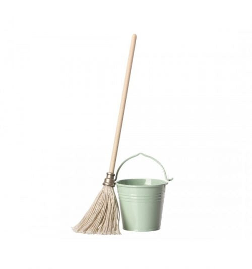 Maileg - Mop and Bucket Set