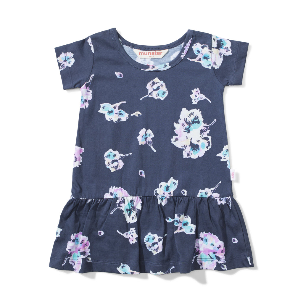 Lil Missie - Water Floral Summer Dress