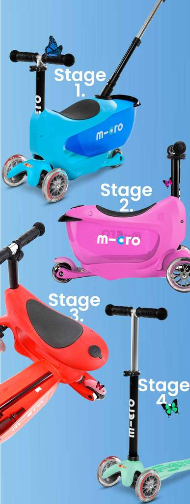 Micro Scooters - Mini2Go Deluxe Plus - Blue