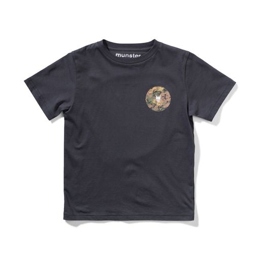 Munster Kids - Stamped SS Tee - Black