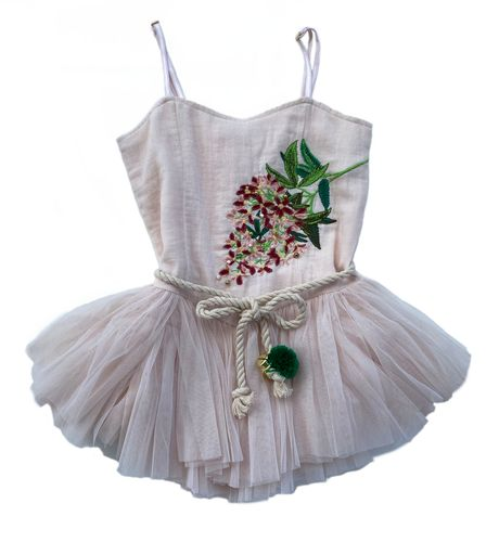 Bella and Lace - Nutcracker Dress - Sugarplum Embroidery