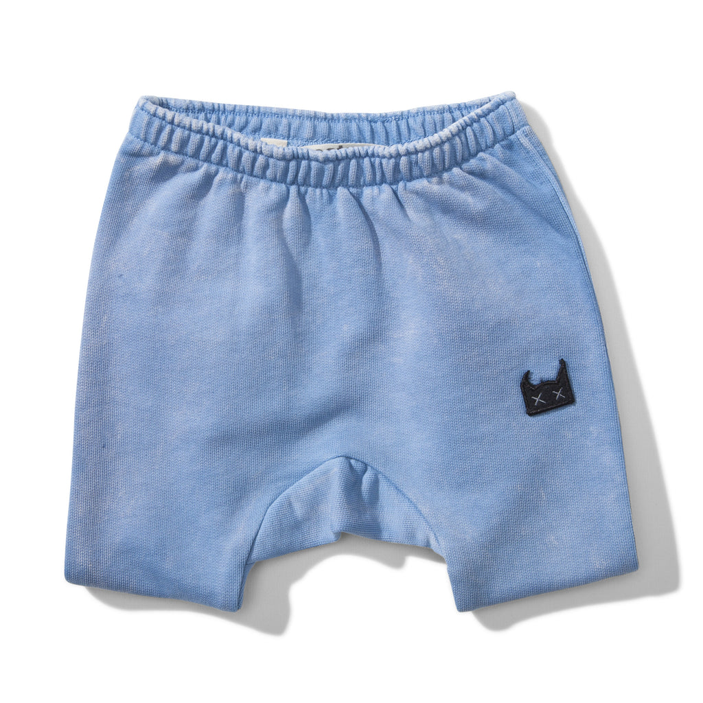 Mini Munster - Blue Washed Up Shorts