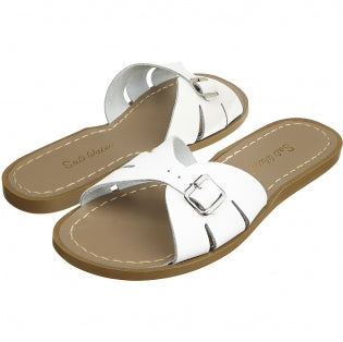 Salt Water Sandals WOMENS - Classic Slide - White