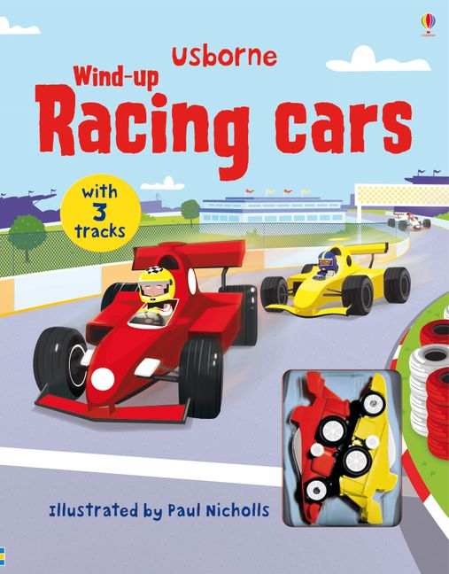 Book - Wind Up Racing Cars