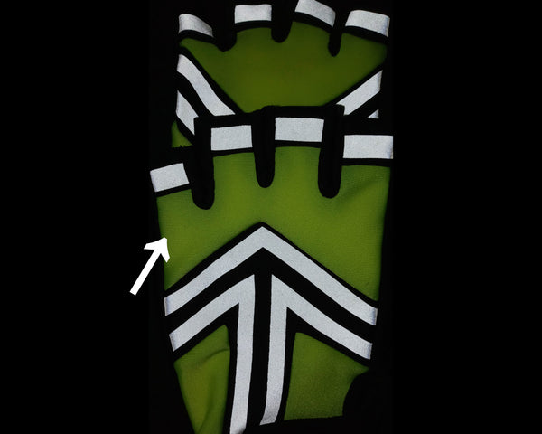 HALTZ HALF GLOVE LARGE (DISCOUNTED)