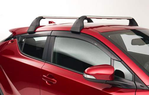 Side Window Deflectors - 08162-10810 - Toyota Customs