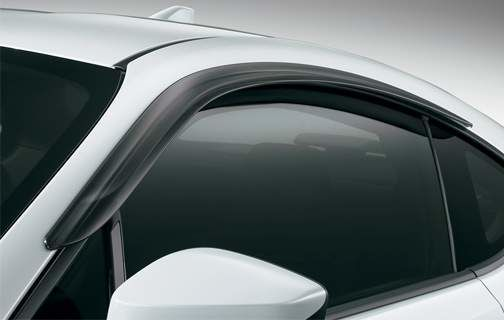 Side Window Deflectors - 08162-18810 - Toyota Customs